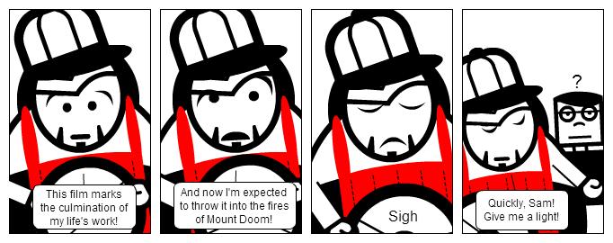 Bill the Klingon - That Orodruin Moment