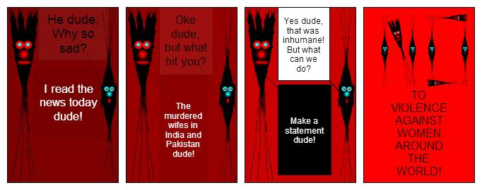 Cruel world(dudes against violence)