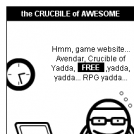 Crucible of Awesome 1