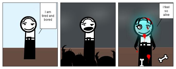 Zombie Neinire contest
