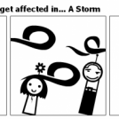 How Different people get affected in... A Storm