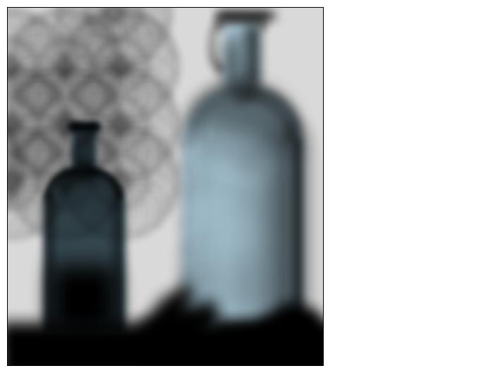 Bottles in a window