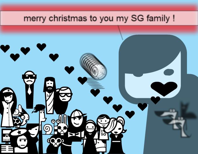 merry christmas to you SG !