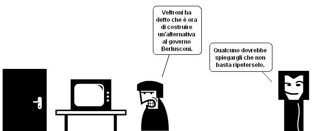 L'alternativa di governo secondo Veltroni