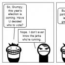 Smiles & Grumpy