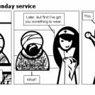 Bill the Klingon - Sunday service