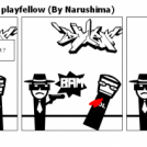 I quickly ran out of playfellow (By Narushima)
