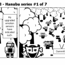 Elevator Comic # 88 - Hanubu series #1 of 7