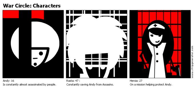 War Circle: Characters