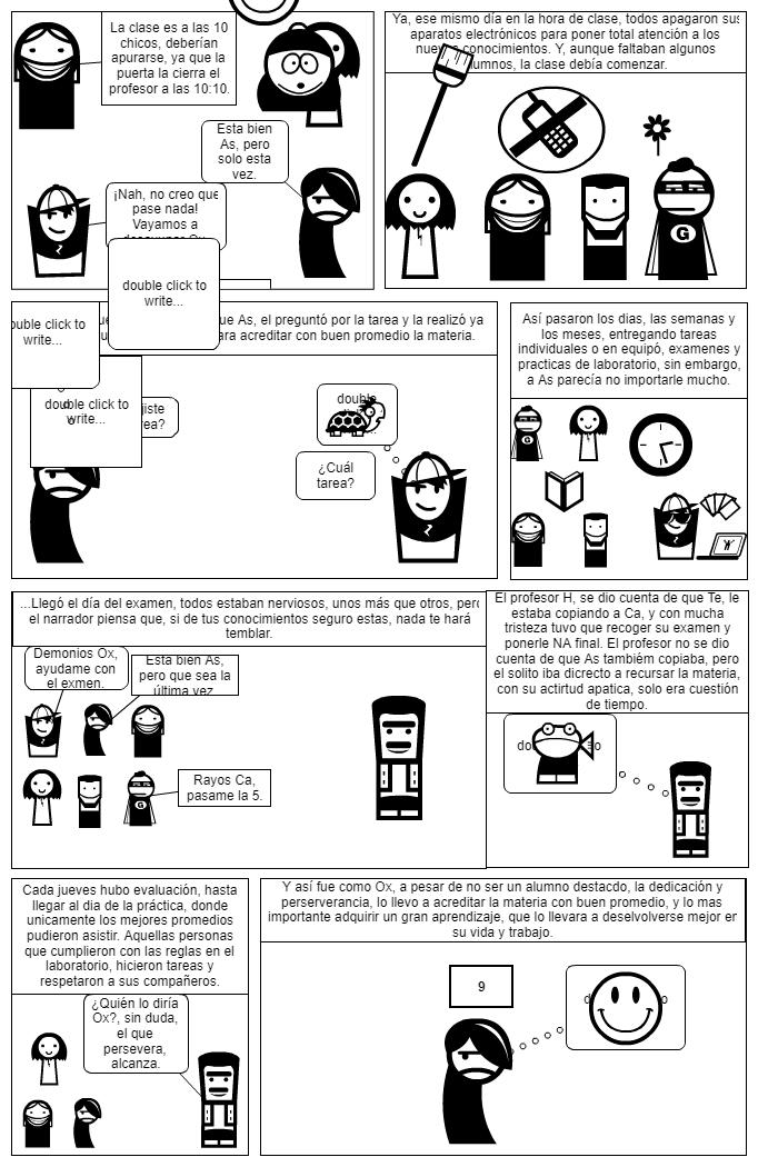 Comic Lineamientos P.S.
