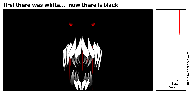 first there was white.... now there is black