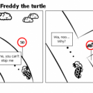The Adventures of: Freddy the turtle