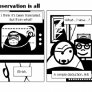 Bill the Klingon - Observation is all