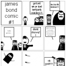 james bond comic#1