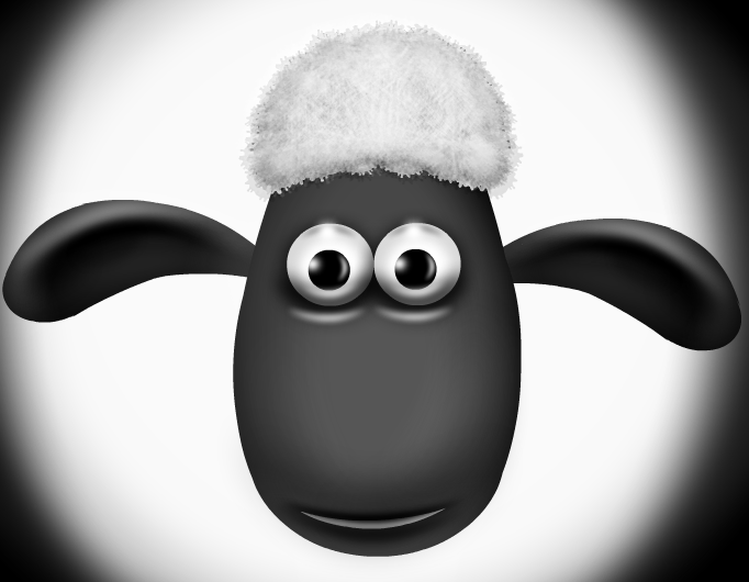 Shaun The Sheep Vignette