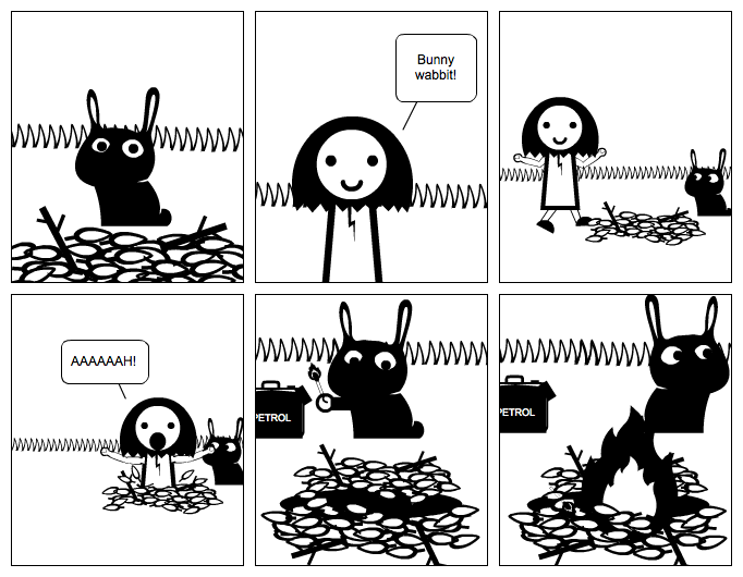 The Adventures of Evil Rabbit Episode 1