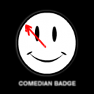 Comedian Badge