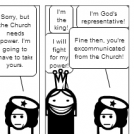 King vs. Church