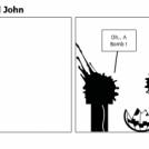 Pumpkin Bomb And John