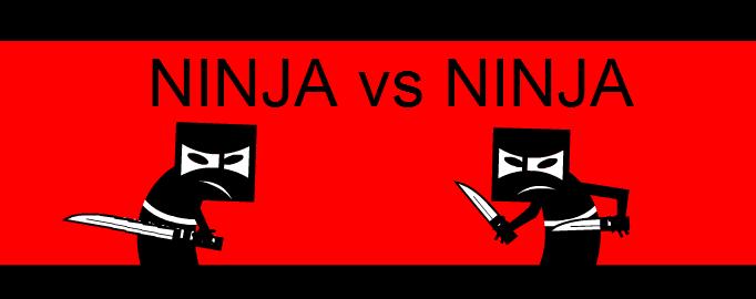 Ninja vs Ninja (portada)