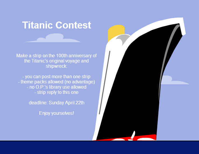Titanic contest