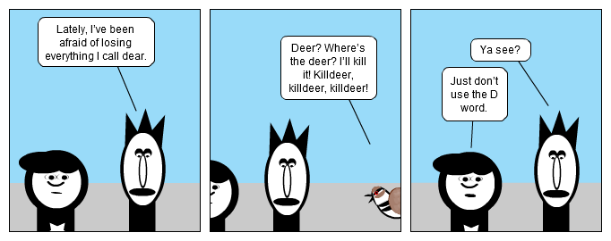 View To A Deer