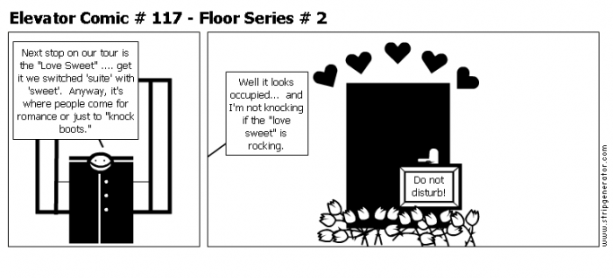 Elevator Comic # 117 - Floor Series # 2