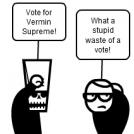 Vote for Vermin Supreme