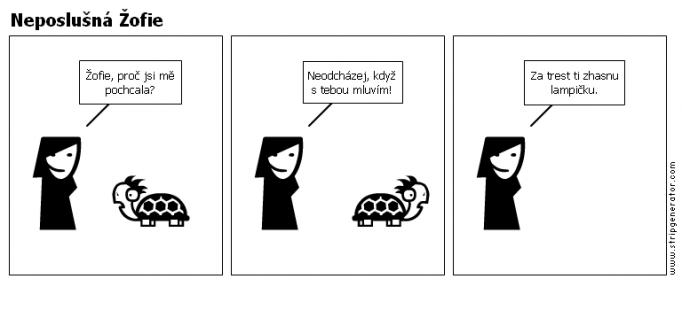 Neposlušná Žofie