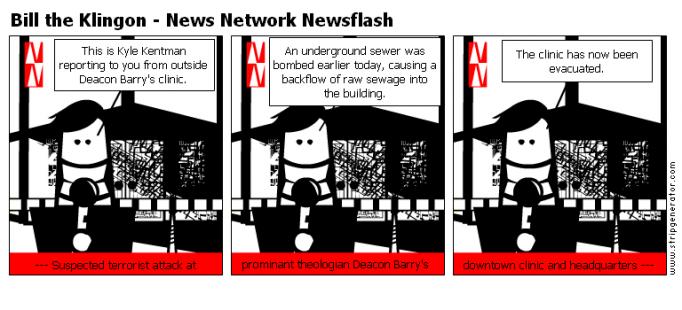 Bill the Klingon - News Network Newsflash