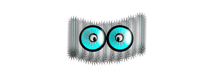 Spike eyes