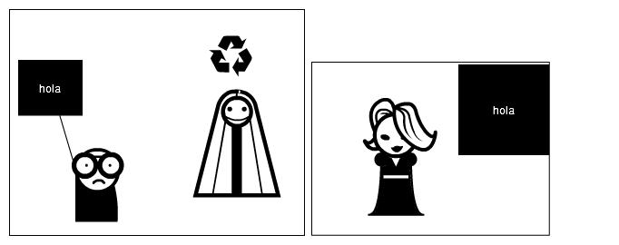 hola, recicla, hola