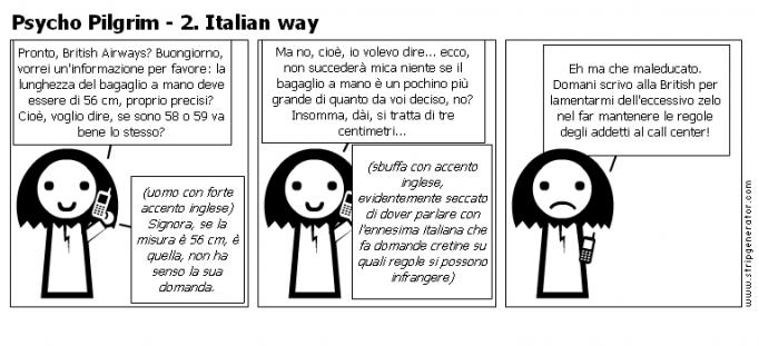 Psycho Pilgrim - 2. Italian way