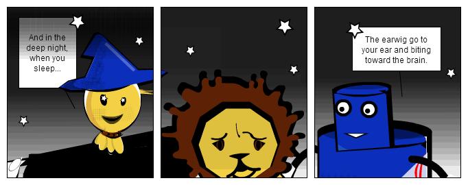Lizzie: Night story