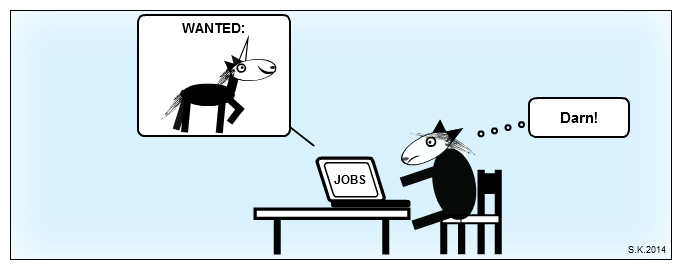 UX comic: UX Unicorn