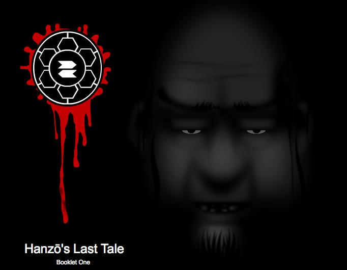 Hanzo's Last Tale Booklet One Cover