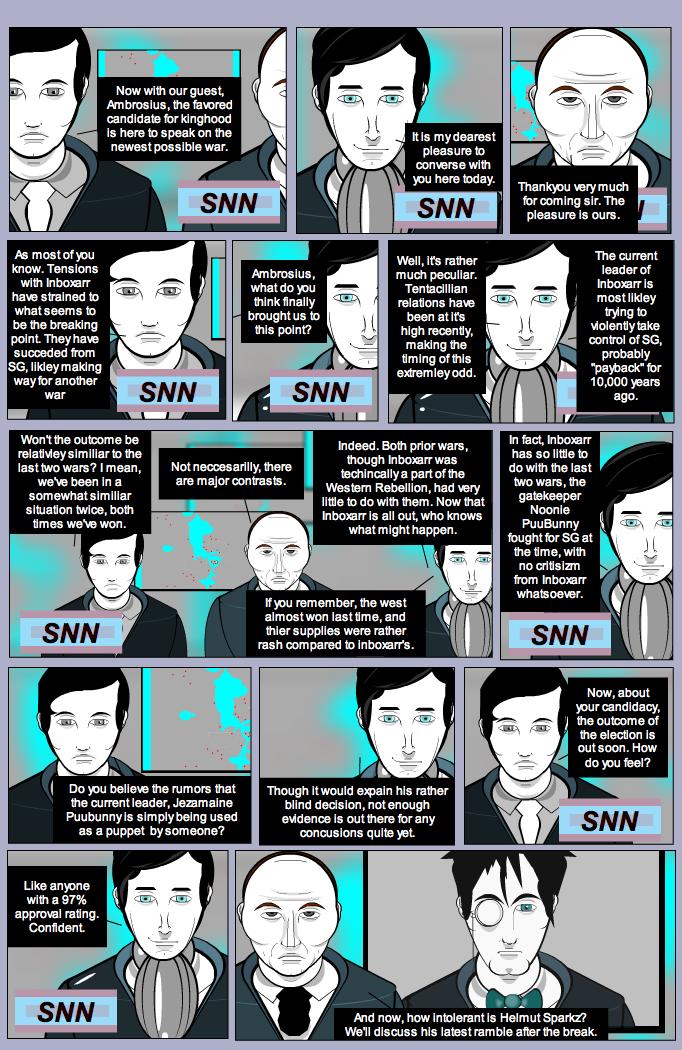 SSGG S2: SNN-Strip News Network