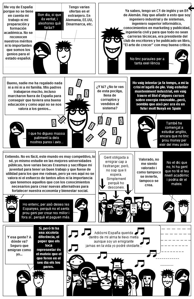 """Mr Happy """"El Emigrante y el genio"""""""