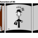 The first book of the characters of SG