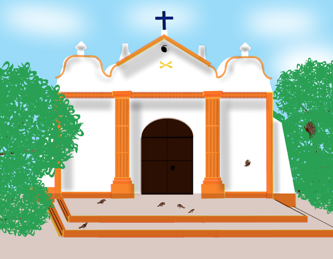 Ermita de la  Virgen del Carmen.Aragua.Venezuela