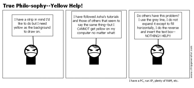 True Philo-sophy--Yellow Help!