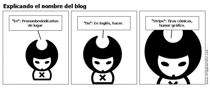 Explicando el nombre del blog