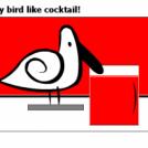 My bird like cocktail!