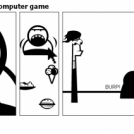 Housewife on diet - Computer game