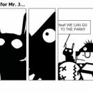 The average morning for Mr. J...
