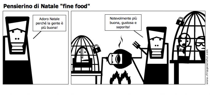 Pensierino di natale fine food for Pensierino natale