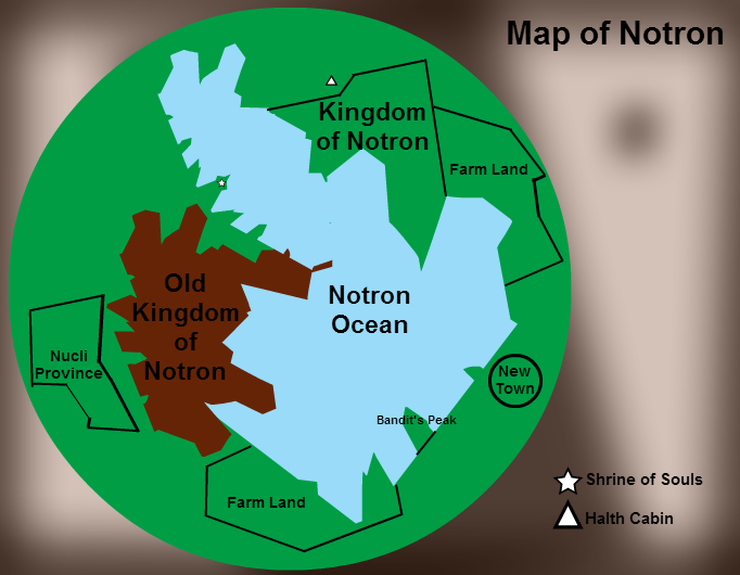 Map of Notron