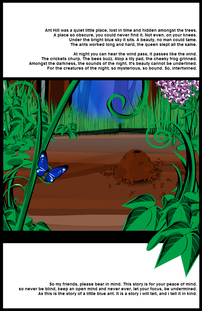 Ant Hill: Page 1