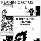 flamin'cactus