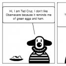 Green Eggs and Ham by Ted Cruz